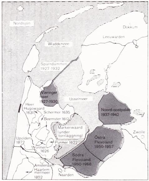 En holländsk polder. Bild 1